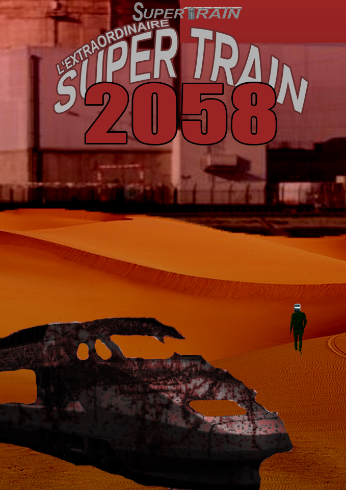 Nouvelle BD : L'Extraordinaire Super Train : 2058