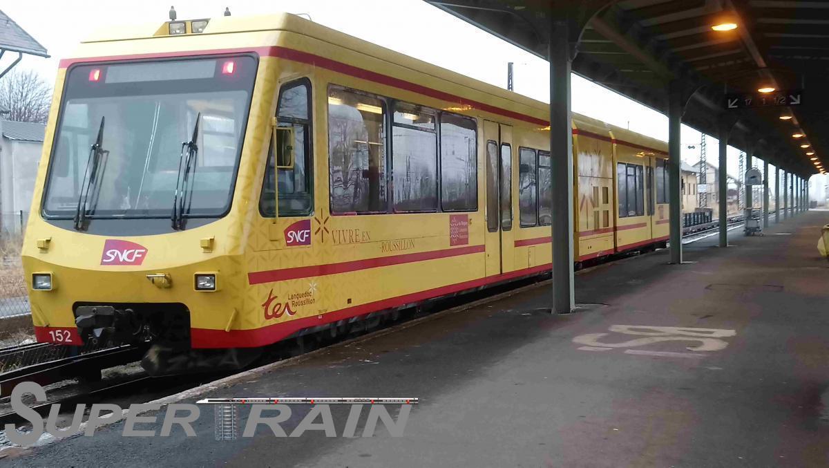 152 (Z150 - Le Train Jaune)